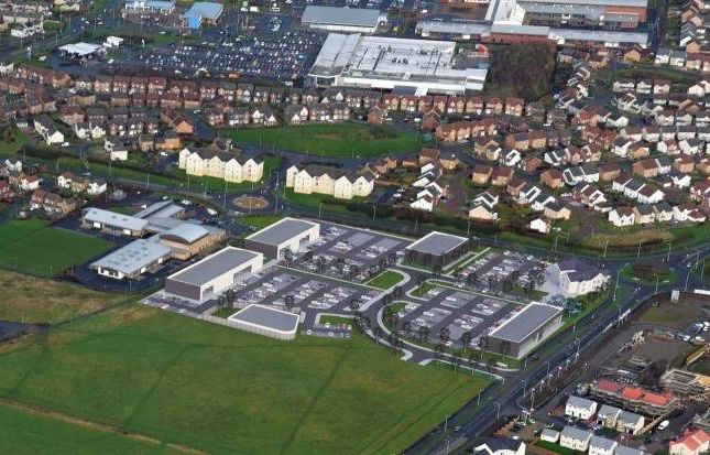 Thumbnail Land for sale in Lapwing Drive, Dunfermline