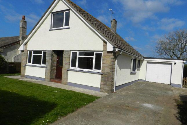 Thumbnail Detached bungalow for sale in Castle View, Simpson Cross, Haverfordwest