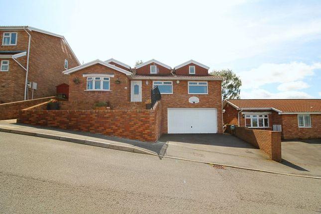 Thumbnail Detached bungalow for sale in Ffordd Tryweryn, Cilfynydd, Pontypridd