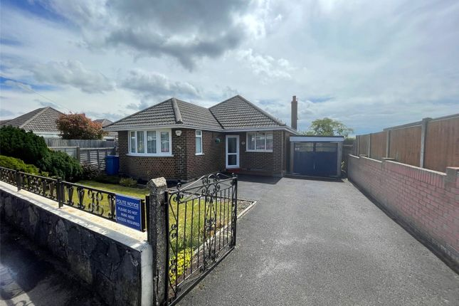 Thumbnail Bungalow for sale in Churchill Road, Parkstone, Poole