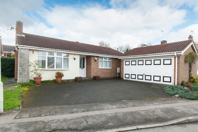 Thumbnail Detached bungalow for sale in Campion Hill, Castle Donington, Derby