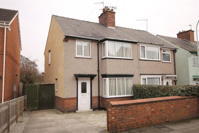 Thumbnail Semi-detached house for sale in Vincent Crescent, Brampton, Chesterfield