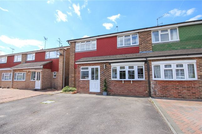 Thumbnail Semi-detached house for sale in Thames Close, Farnborough, Hampshire