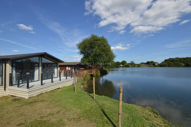 Thumbnail Lodge for sale in Chichester Lakeside Holiday Park, Vinnetrow Road, Chichester