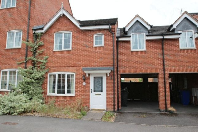 Thumbnail Town house to rent in Godwin Way, Stoke-On-Trent