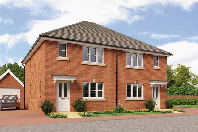 """Thumbnail Semi-detached house for sale in """"Dakota"""" at Gamecock Terrace, Tangmere, Chichester"""