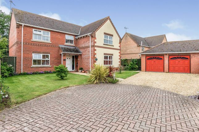 Thumbnail Detached house for sale in Edgefield, Weston, Spalding