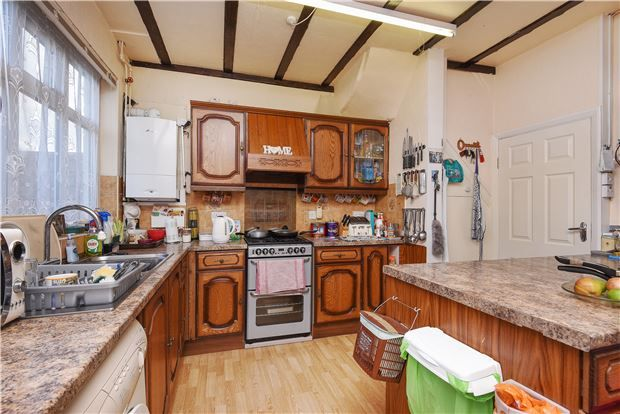 Thumbnail Terraced house for sale in Fernlea Road, Mitcham, Surrey