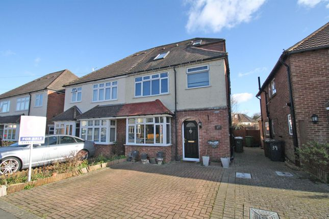 Thumbnail Semi-detached house for sale in Beckingham Road, Guildford