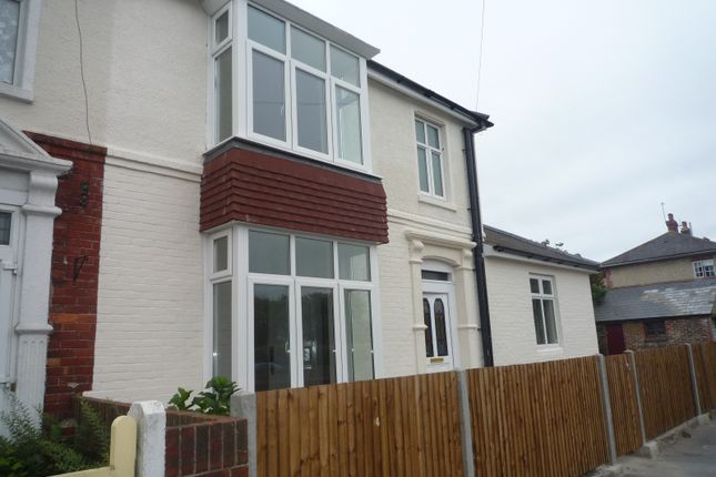 Thumbnail End terrace house to rent in Northern Parade, Portsmouth
