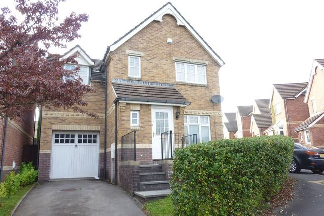 Thumbnail Detached house to rent in Windsor Drive, Miskin, Pontyclun