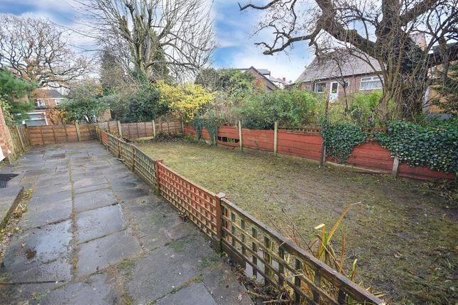 Garden of Burnham Close, Cheadle Hulme, Cheadle SK8