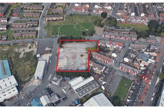 Land for sale in Land At, Alfred Road, Wallasey, Wirral, England