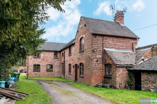 Thumbnail Detached house for sale in Church Lane, Lea Marston, Sutton Coldfield