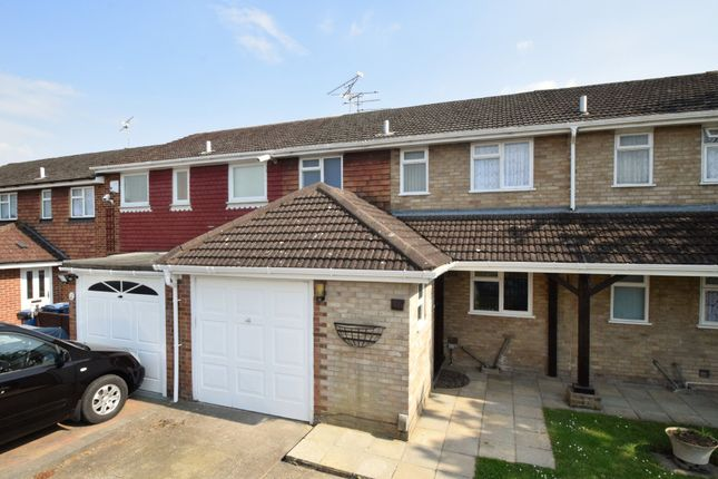 Thumbnail Terraced house for sale in Christchurch Drive, Blackwater, Camberley