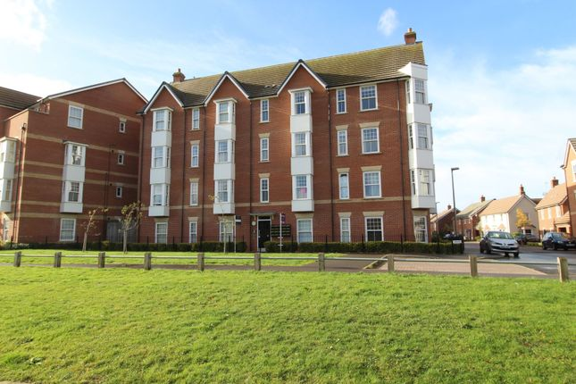 Thumbnail 2 bed flat for sale in Fletton Dell, Woburn Sands