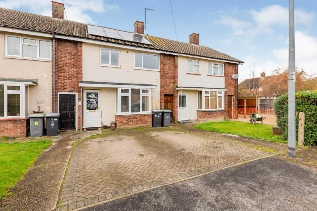 Thumbnail Terraced house for sale in Coxs Way, Arlesey, Bedfordshire