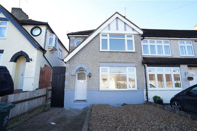 Thumbnail End terrace house to rent in Ashen Drive, Dartford, Kent