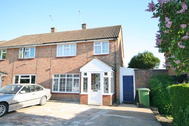 Thumbnail Semi-detached house to rent in Fletcher Way, Hemel Hempstead