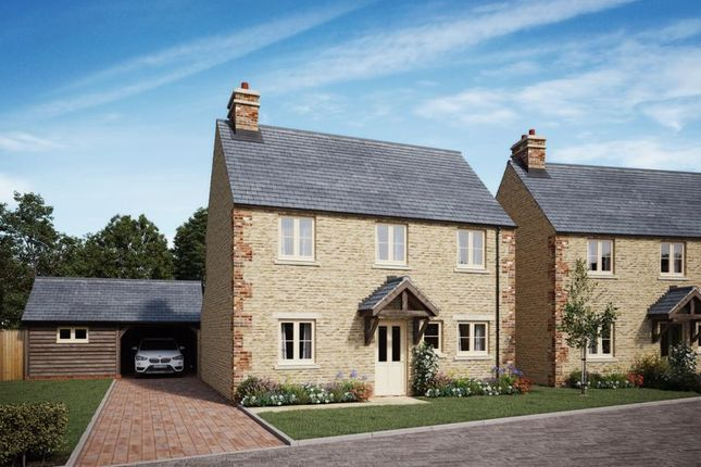Thumbnail Detached house for sale in Bluebell Gardens, North Leigh