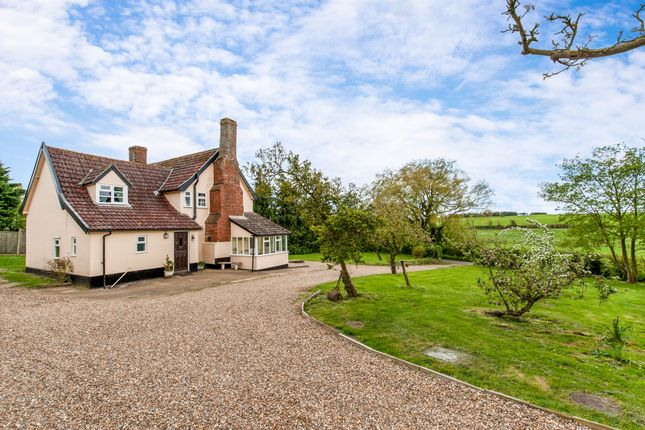 Thumbnail Farmhouse for sale in Smallworth, Garboldisham, Diss
