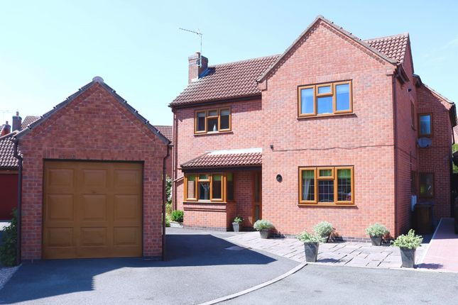 Thumbnail Detached house for sale in Faraday Avenue, Stretton, Burton-On-Trent
