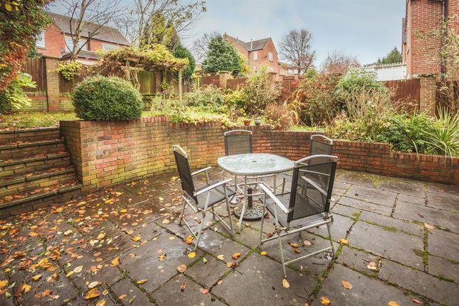 Rear Garden of Burley Lane, Quarndon, Derby DE22