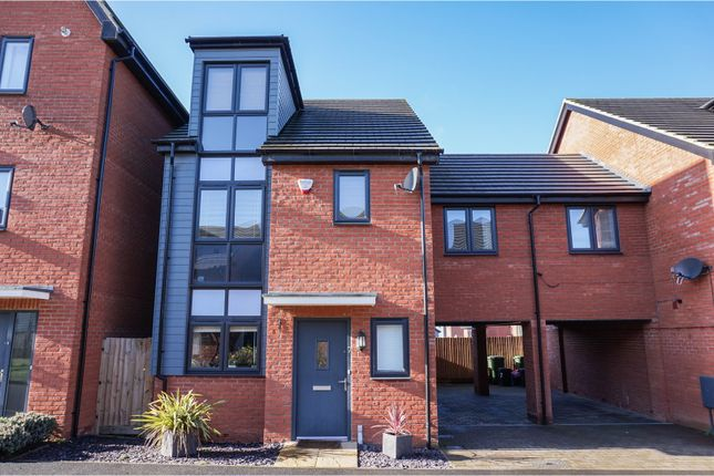 Thumbnail Link-detached house for sale in Holland Way, Walton