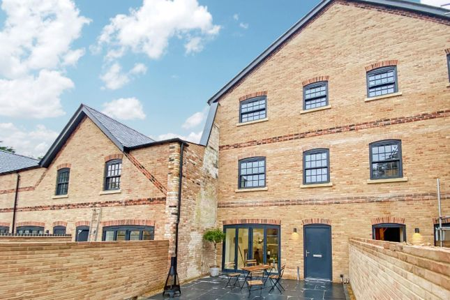 Thumbnail Town house for sale in Old Mill Close, Whittington, King's Lynn