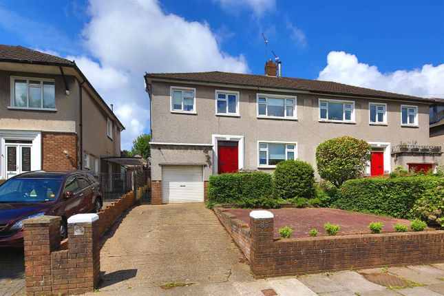 Thumbnail Semi-detached house for sale in Windermere Avenue, Cyncoed, Cardiff