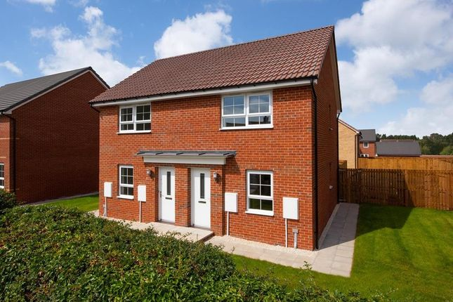 "Thumbnail 2 bedroom semi-detached house for sale in ""Kenley"" at Holme Way, Gateford, Worksop"