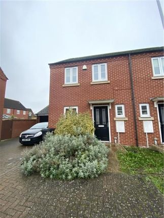 Thumbnail Semi-detached house to rent in Laxton Way, Bedford