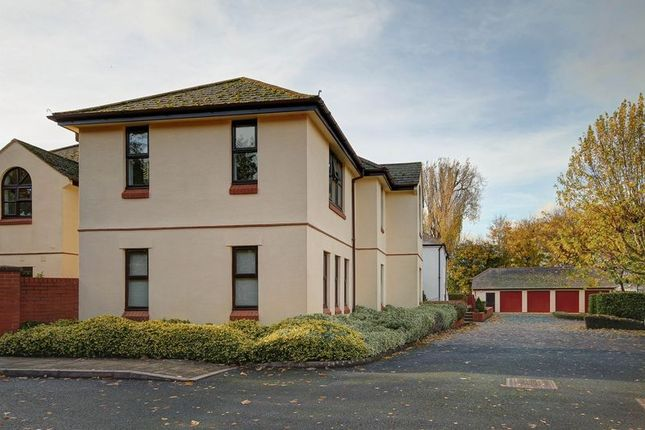 Thumbnail Flat for sale in Trews Weir Court, St. Leonards, Exeter