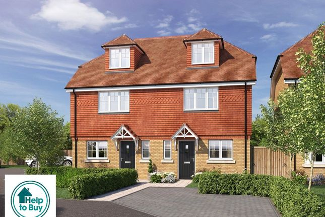 Thumbnail Semi-detached house for sale in All Saints Gardens, Nutfield Road, Merstham, Surrey