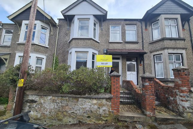 Thumbnail Terraced house to rent in Daniell Road, Truro