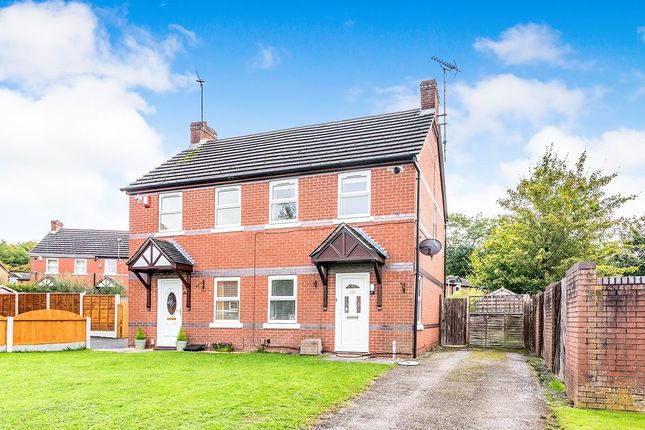 Thumbnail Semi-detached house for sale in Gittens Drive, Aqueduct, Telford