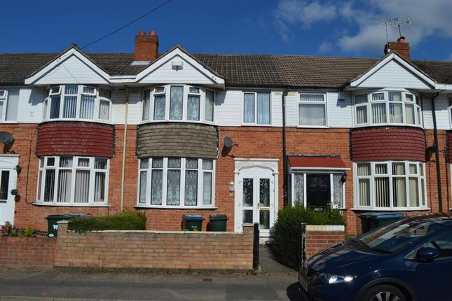 Thumbnail Terraced house to rent in Foxford Crescent, Aldermans Green, Coventry