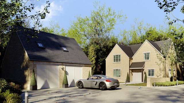 Thumbnail Detached house for sale in Fields Road, Chedworth, Cheltenham
