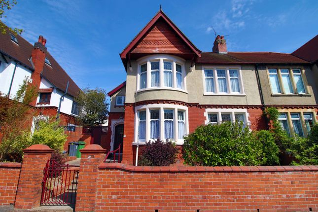 4 bed semi-detached house for sale in Dorchester Avenue, Penylan, Cardiff CF23