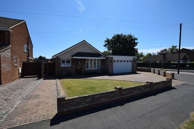 Thumbnail Detached bungalow to rent in Heronscroft, Bedford