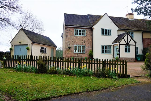 Thumbnail Semi-detached house for sale in Folly Road, Hungerford