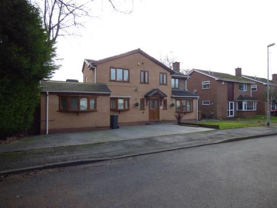 Thumbnail Detached house for sale in Glen Close, Walsall, West Midlands