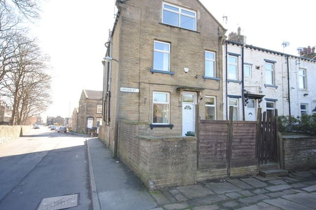 Thumbnail End terrace house to rent in Lincoln Street, Allerton, Bradford