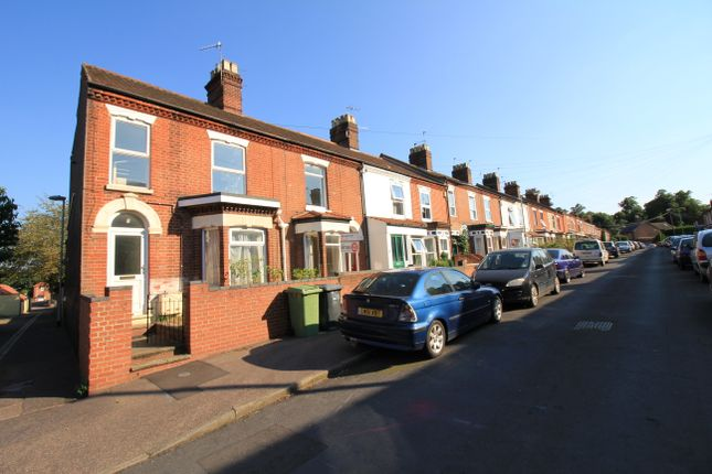 Thumbnail End terrace house to rent in Merton Road, Norwich