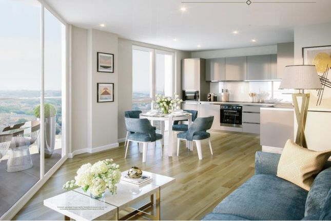 Thumbnail Flat for sale in Brook House, Brixton Centric, Brixton