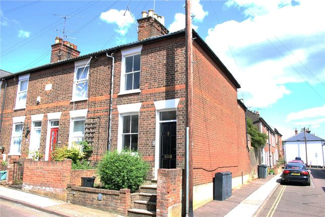 Thumbnail End terrace house to rent in Inkerman Road, St. Albans, Hertfordshire