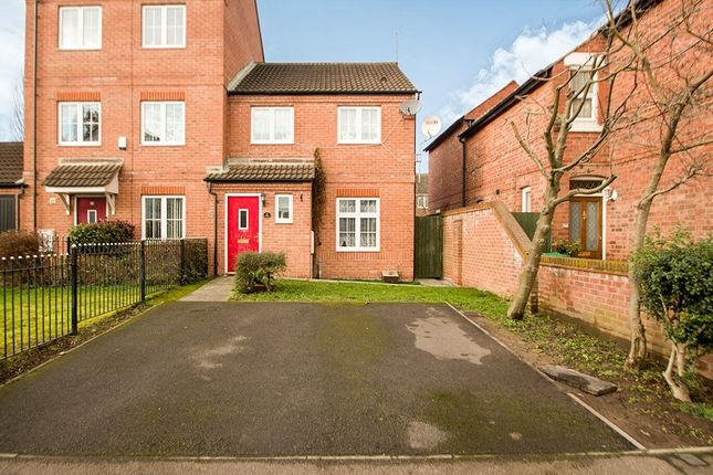 Thumbnail Semi-detached house for sale in Highbury Avenue, Bulwell, Nottingham