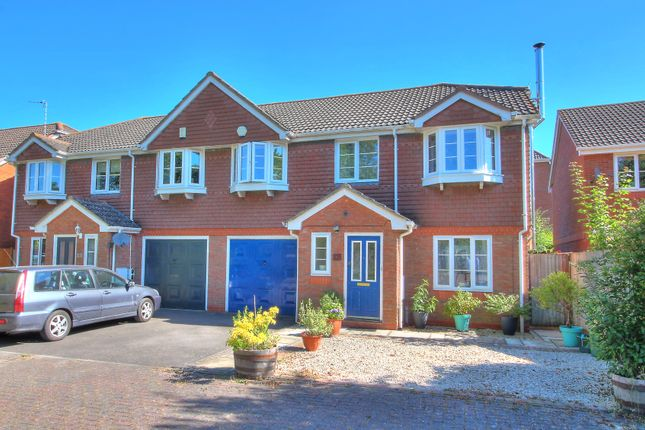 Thumbnail Semi-detached house for sale in German Road, Bramley, Tadley