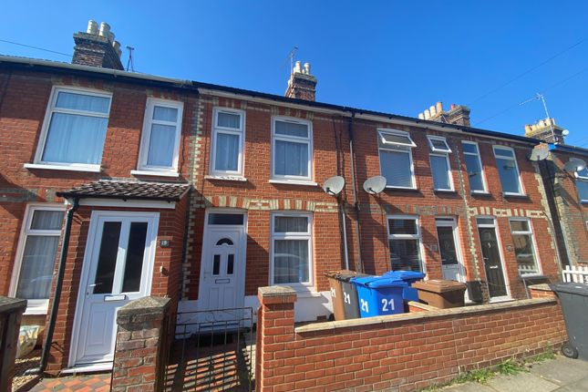 2 bed terraced house to rent in Leopold Road, Ipswich IP4