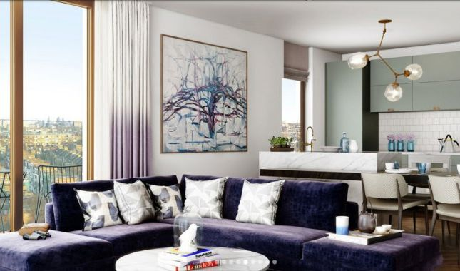 Thumbnail Flat for sale in West Hampstead Square, London